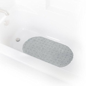 Grey Bubble Tub Mat By Richard Homewares