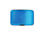 Turquoise Aluminium Wallet Credit Card Holder With RFID Protection