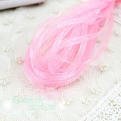 FunnyPicker (20 Metres/Lot) 1/8'' (3Mm) Pink Organza Ribbons Wholesale Gift Wrapping Christmas Ribbons