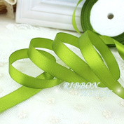 "FunnyPicker (25 Yards/Roll)1/2""(12Mm) Fruit Green Single Face Satin Ribbon Webbing Decoration Gift Christmas Ribbons"