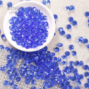 Ling's moment 900 COUNT Royal Blue 2 Carat/8mm Sparkle Diamond Table Confetti Decorations for Wedding Centrepieces Bridal Shower Graduations Party Valentines Decorations