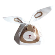 Rely2016 Cookie Biscuit Candy Rabbit Ear Package Bag Souvenir Bag 20/50Pcs Cute Rabbit, Lazy Sheep, Yili Rat Plastic Packaging Bag