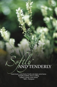 """""""Softly and Tenderly"""" Hymn Church Bulletin with Perforated Tear-Off Panel - Legal Size 20cm - 1.3cm x 36cm"""