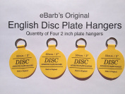 "eBarb's ""The Original"" English Plate Hanger Disc--a quantity of FOUR 5.1cm Hangers"