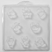 8 Cavity Assorted Childrens Soap/Bath Bomb Mould Mould M42 x 10