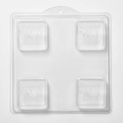 4 Cavity Honey Soap/Bath Bomb Mould Mould M134 x 5
