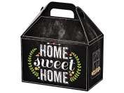 Nashvile Wraps Gable Gift Box 6 Count - Chalkboard Home Sweet Home