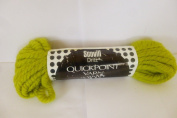 Lime Green Scovill Dritz Quickpoint 100% Pure Virgin Wool Yarn