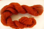 Rust Red Acrylic Wool Blend Fine Fingering Lace Weight Yarn