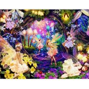 WinnerEco Butterfly Elves 5D Diamond DIY Painting Craft Kit Home Decor