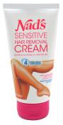 Nads Hair Removal Cream Sensitive 5.1 Ounce Tube (150ml)