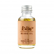 Raw Beard Oil by The Bearded Bastard — Unscented Beard Oil