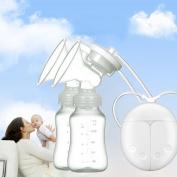 Electric Breast Pump,AnGeer Dual Breast Pump Automatic Massage Postpartum Prolactin