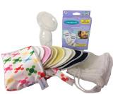 Breast Pump, Nursing Pads, and Breast Milk Storage Bags