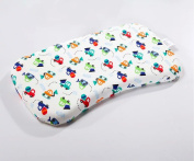 CdyBox Cotton Baby Long Sleeping Pillow Infant Head Shaping Pillow Crib Bassinet Stroller Bed Swing