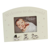 Oaktree Gifts Welcome to the World 4 x 3 Photo Frame