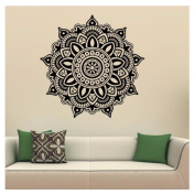 Kemilove Mandala Flower Indian Bedroom Wall Decal Art Stickers Mural Home Vinyl Family