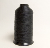 Thread, Polyester, A & E American & Efird Bonded Polyester Thread-240ml Spools, Black - Size BT 92 T-90
