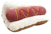 Estella Hot Dog Decor Pillow