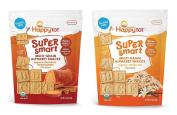 Happy Tot Organics Multi Grain Alphabet Snacks Bundle
