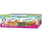 Gerber 2nd Foods Fruit & Veggie Value Pack