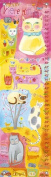 Oopsy Daisy Growth Charts Kitty Cat Cuteness by Donna Ingemanson, 30cm by 110cm