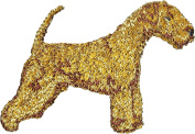 Lakeland Terrier, Embroidery, patch with the image of a dog