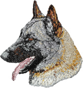 Belgian Shepherd, Embroidery, patch with the image of a dog