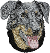 Beauceron, Embroidery, patch with the image of a dog