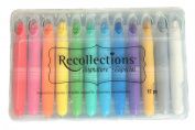 Recollections Signature Shimmery Watercolour Crayons - 12 Piece Set