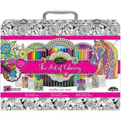 Art Of Colouring Adult Colouring Case 37 Piece Set