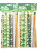 St. Patricks Day Pencil Collection ~ 2 Dozen Pencils