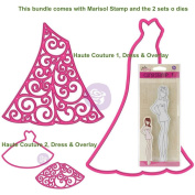 Prima Marketing Julie Nutting Marisol + Haute Couture 1 and 2, Dress & Overlay Dies