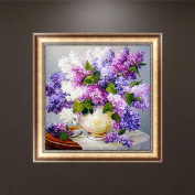 Doober Lavender 5D Diamond Embroidery DIY Craft Painting Cross Stitch Mosaic Home Decor