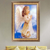 Doober Angel Girl Diamond Embroidery 5D DIY Painting Cross Stitch Home Decor