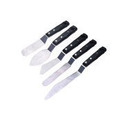 MEEDEN Professional Painting Large Scale Knives 5-Piece #3 #11 #13 #14 #17