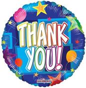 Thank You 46cm Mylar Balloon Bulk