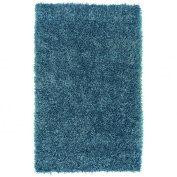Hampton Teal Blue 0.6m x 0.9m Accent Rug