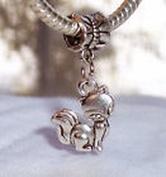 Beads Hut - Siamese Cat Kitty Kitten Pet Animal Dangle Bead Gift for European Charm Bracelet
