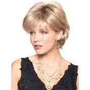 Aoert Blonde Curly Wigs for Women Short Synthetic Heat Resistant Wig 30cm