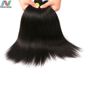 Newness Factory Human Virgin Hair 6A Straight Indian Hair Extensions 46cm 2 Pcs