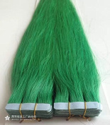 Silmei 60cm Tape In Human Hair Extensions Silky Straight Skin Weft Human Remy Hair
