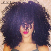 Cici Collection 250% Density Brazilian Curly Lace Front Human Hair Wigs With Baby Hair Brazilian Lace Human Hair Wigs For Black Women Curly Wig