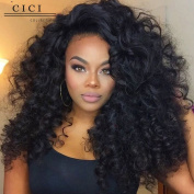 Cici Collection 250% Density Brazilian Loose Curly Glueless Lace Human Hair Wigs Brazilian Virgin Hair Lace Front Human Hair Wigs For Black Women