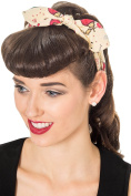 Banned Ana Vintage Retro Rockabilly Bandana Headband