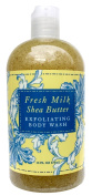 Greenwich Bay Exfoliating Body Wash, Enriched with Shea Butter, Blended with Loofah and Apricot Seed 470ml