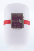 No. 77 Luxury Soap by St Johns. Bath Soap Bar 210ml St Johns Fragrances