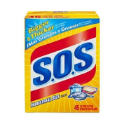 SOS Industrial Size Steel Wool Soap Pads - 45 CT