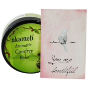 AKAMUTI Aromatic Comfrey Balm Warming Treatment with the Power of Precious Herbs!