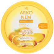 Arko Nem Mango and Mandarin Cream Face Hand and Body Cream, 300 Gramme by Arko